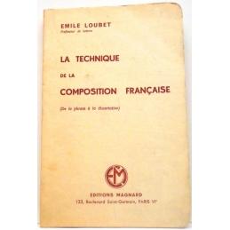 La technique de la composition française