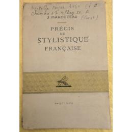 Précis de stylistique française