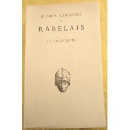 Œuvres complètes de Rabelais. Le Tiers livre