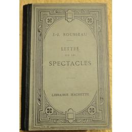Lettres à M. d'Alembert sur les spectacles
