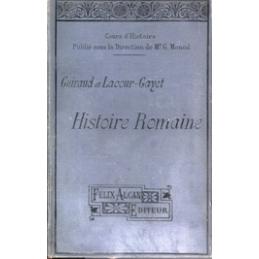 Histoire romaine depuis la fondation de Rome jusqu'à l'invasion des Barbares