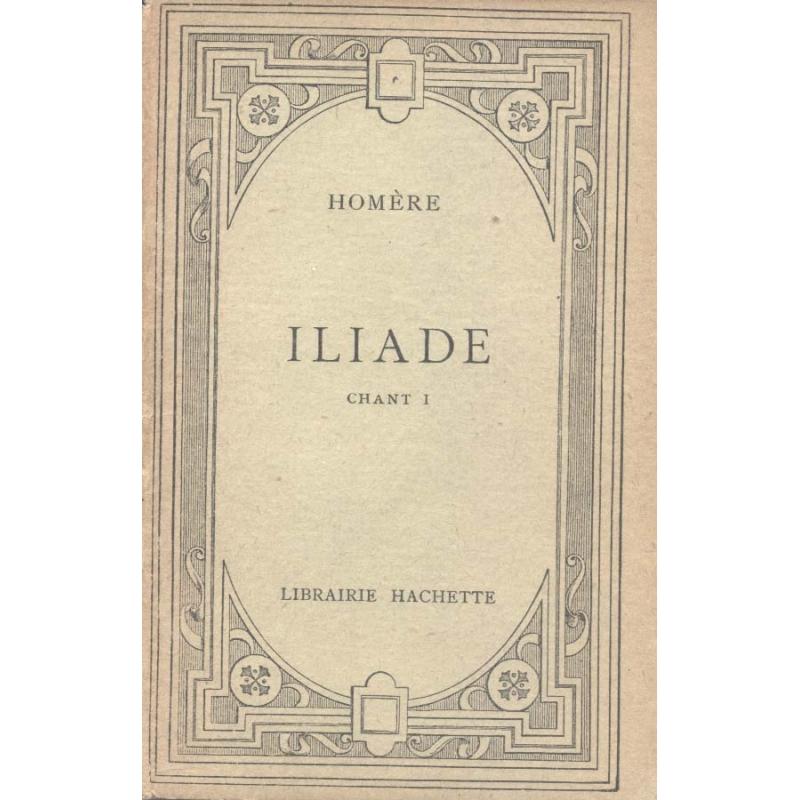 Iliade (Chant I)