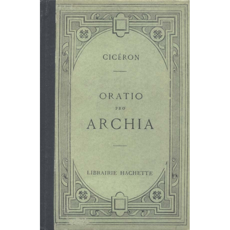 Oratio pro Archia