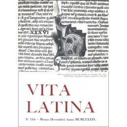 Vita Latina - N° 116. Mense Decembri Anno MCMLXXXIX