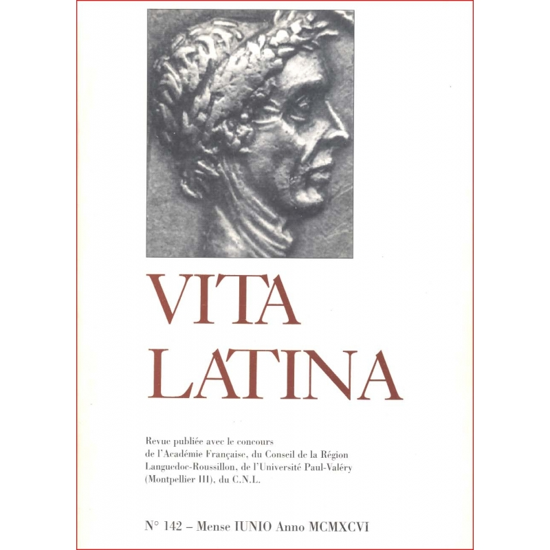 Vita Latina - N° 142. Mense Junio Anno MCMXCVI