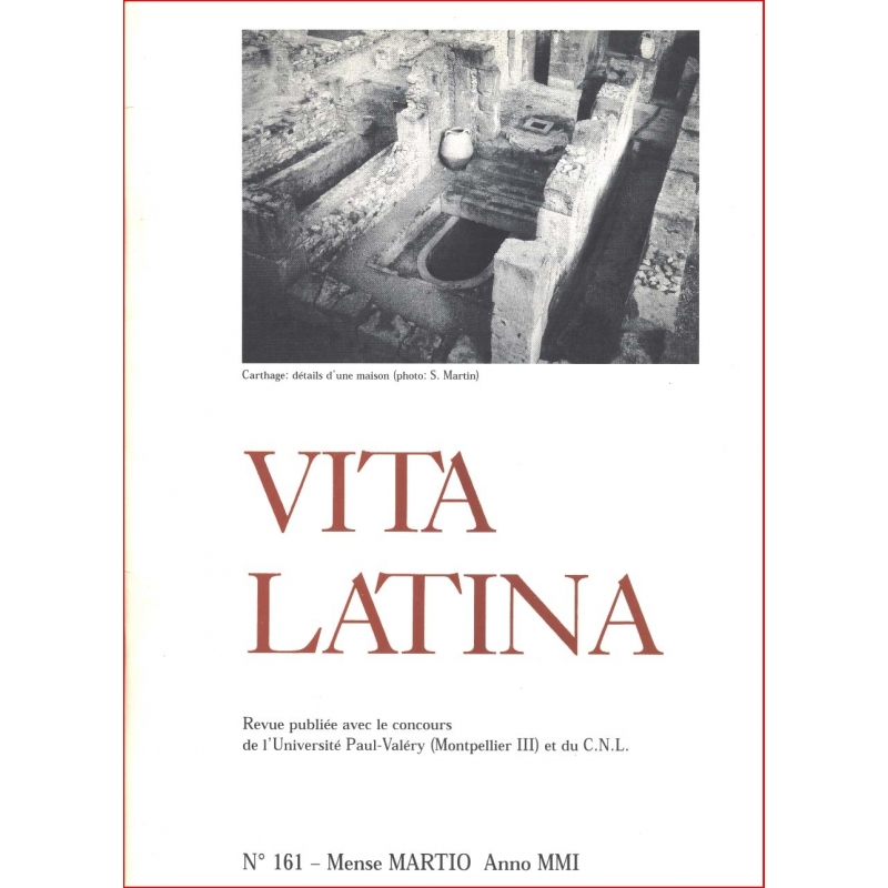 Vita Latina - N° 161. Mense Martio Anno MM