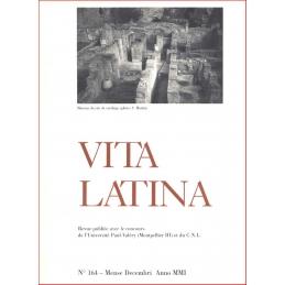 Vita Latina - N° 164. Mense Decembri Anno MMI