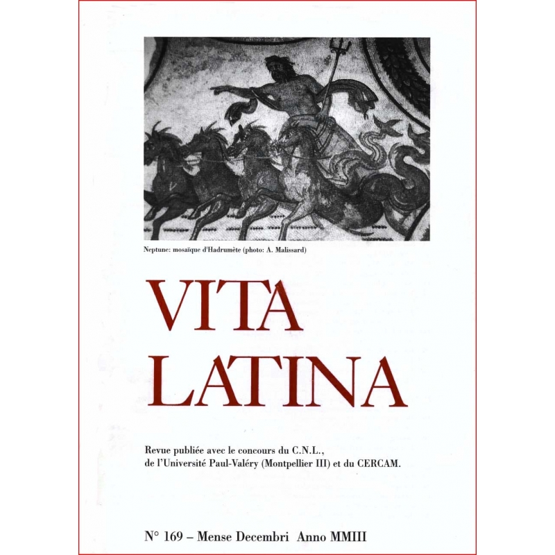 Vita Latina - N° 169. Mense Decembri Anno MMIII