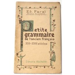 Petite grammaire de l'ancien français