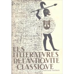 Les littératures de l'Antiquité classique