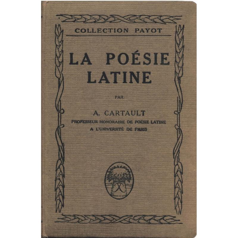 La Poésie latine