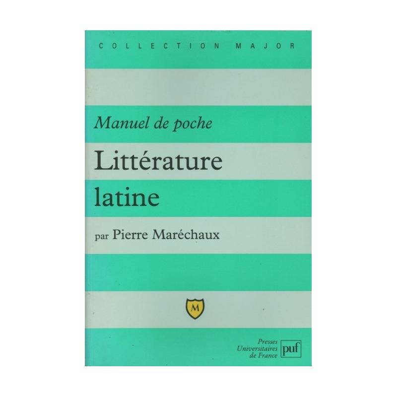 Manuel de poche   littérature latine