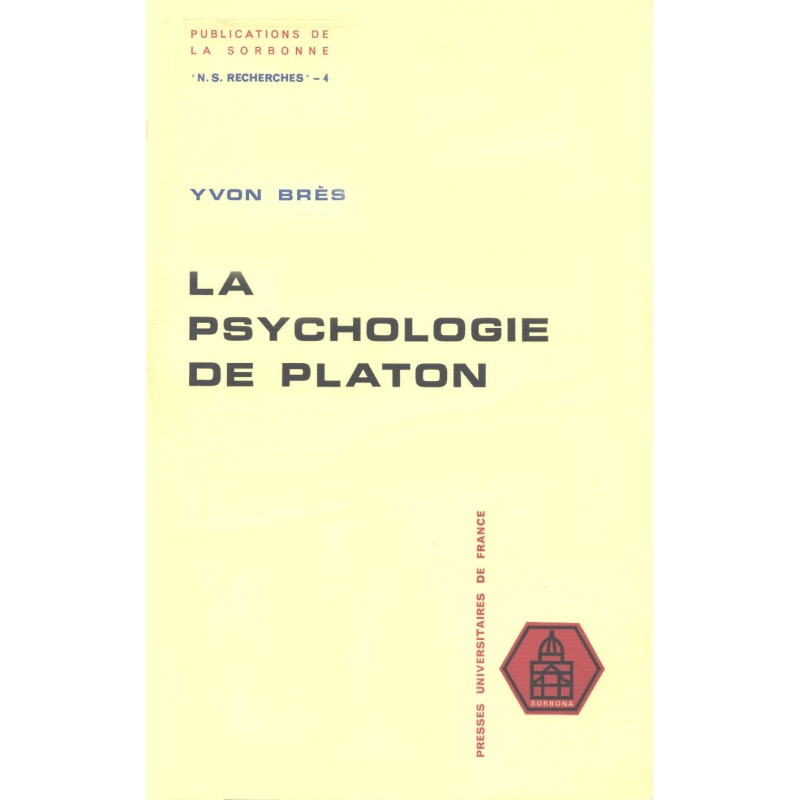 La psychologie de Platon