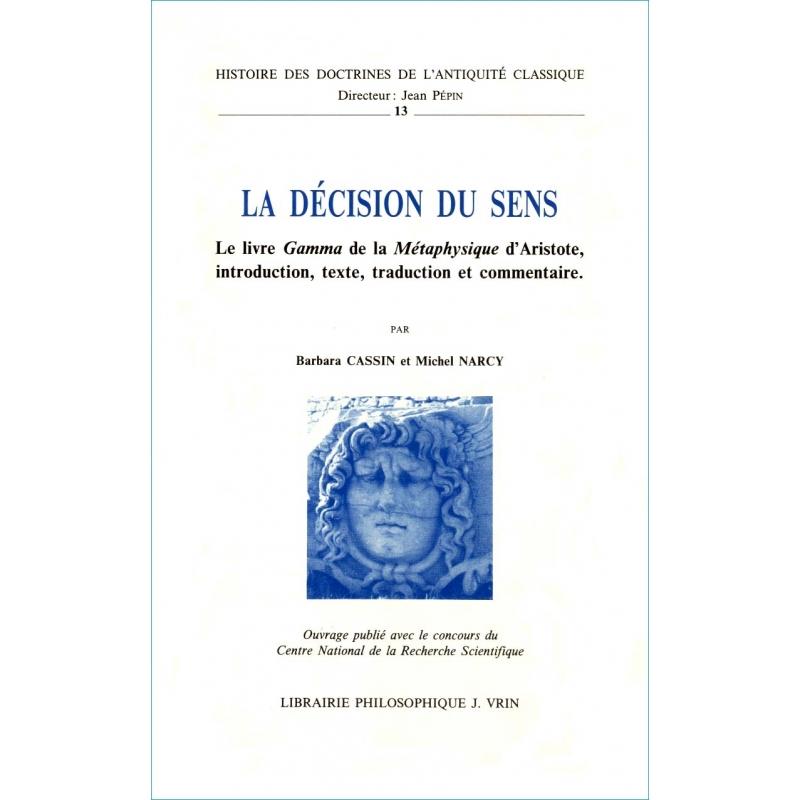 La décision du sens