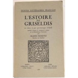 L'Estoire de Griseldis en rimes et par personnages (1395)