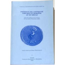 Présence de l'Antiquité grecque et romaine au XXe siècle