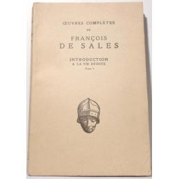 Œuvres complètes de François de Sales