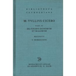 M. Tullius Cicero. Fascicule 43   De finibus bonorum et malorum.