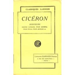 Œuvres de Cicéron, tome VIII   Discours contre Catilina, Pour Murena, Pour Sylla, Pour Archias