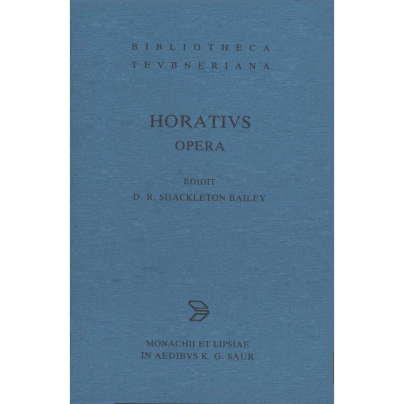Q. Horatius Flaccus Opera