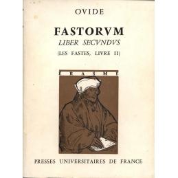 Fastorum. Liber secundus. Les Fastes, livre II