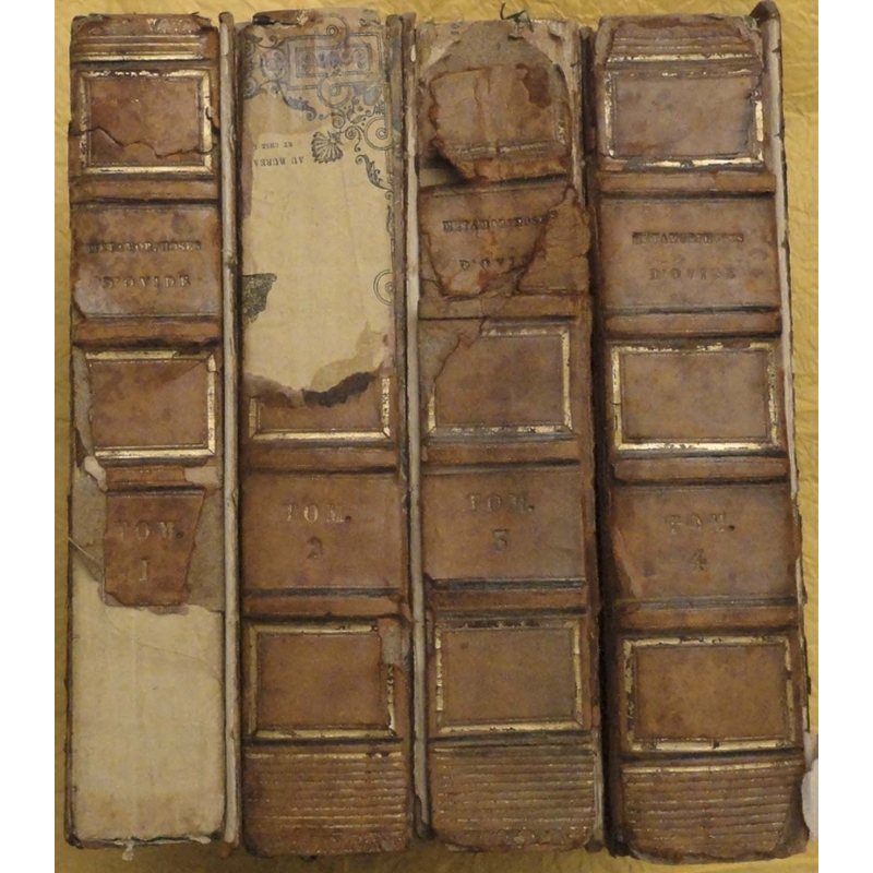 Les Métamorphoses, tomes I à IV