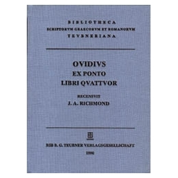 P. Ovidi Nasonis Ex ponto libri quattuor