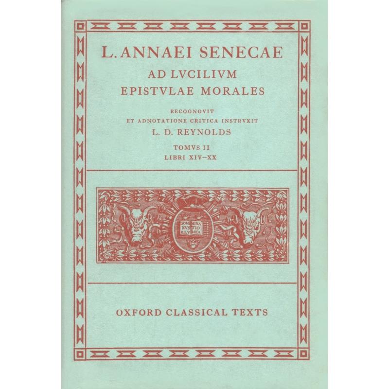 As Lucilium epistulae morales - Tomus II, libri XIV-XX