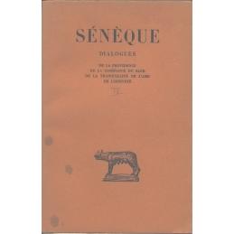 Dialogues, tome IV   De la providence, De la Constance du sage, De la tranquilité de l'âme, De l'oisiveté