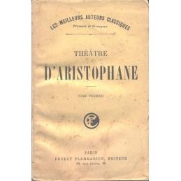 Théâtre d'Aristophane, tome I