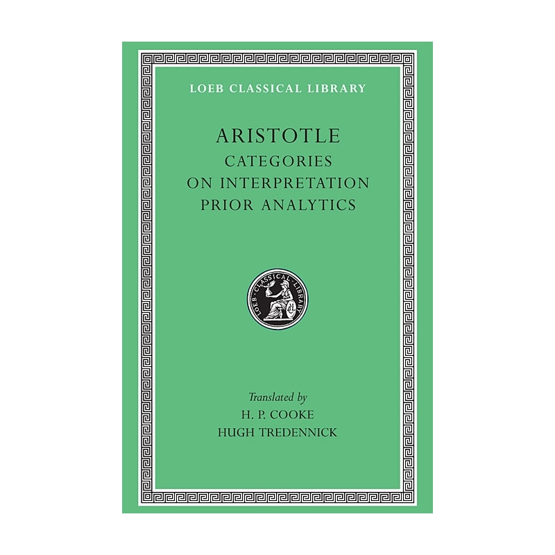 Categories on interpretation - Prior analytics