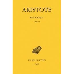 Rhétorique, tome III (livre III)