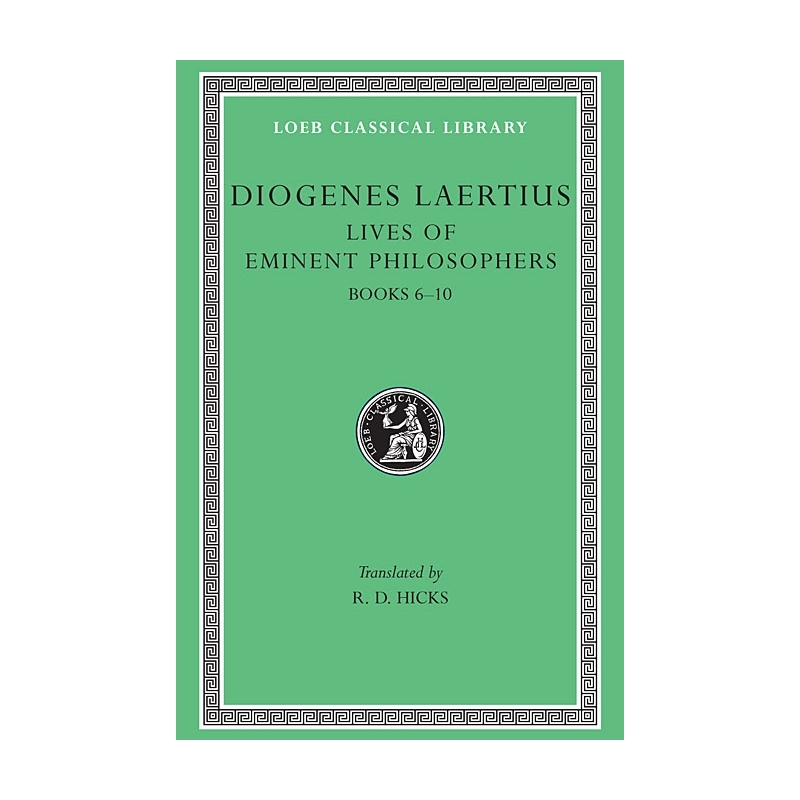 Lives of Eminent Philosophers - volume II