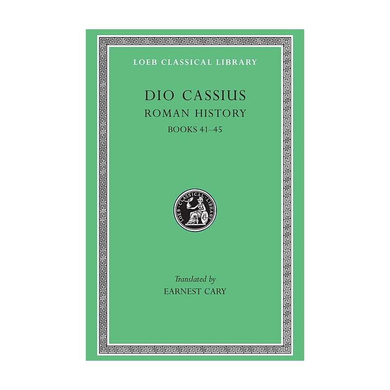 Roman History - books 41-45 - tome IV