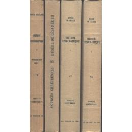 Histoire ecclésiastique I, II, III, IV