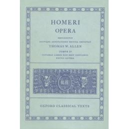 Homeri opera Tomus IV : Odysseae libros XIII-XXIV continens