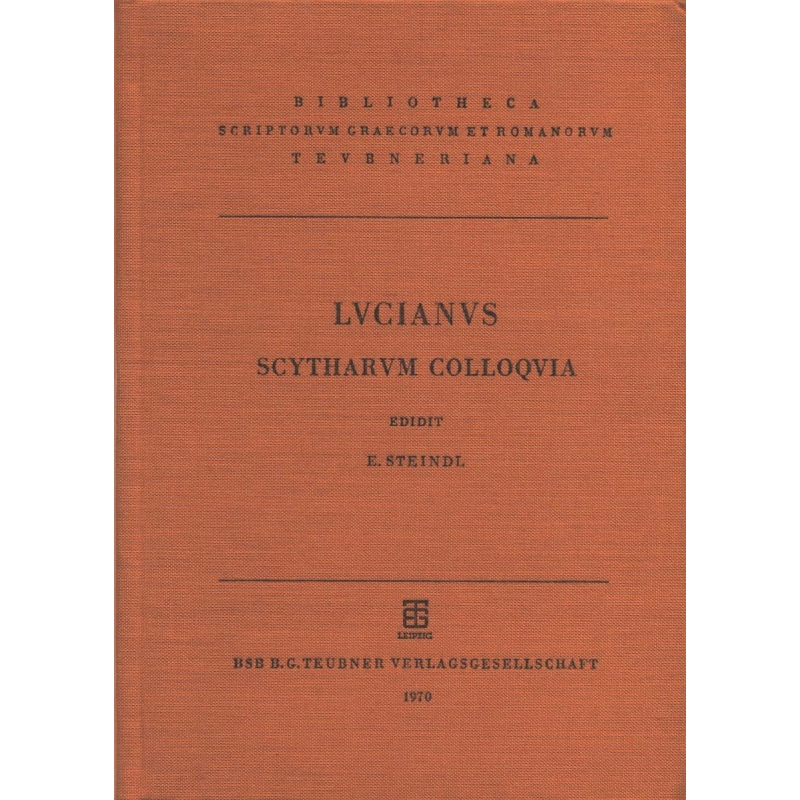Luciani Scytharum Colloquia