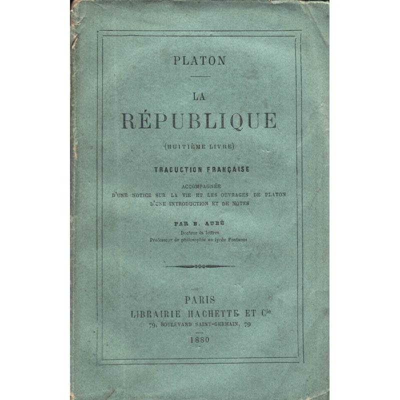La République - livre VIII