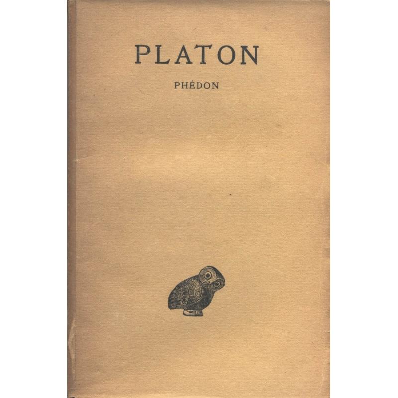 Œuvres complètes, tome IV, 1ère partie : Phédon