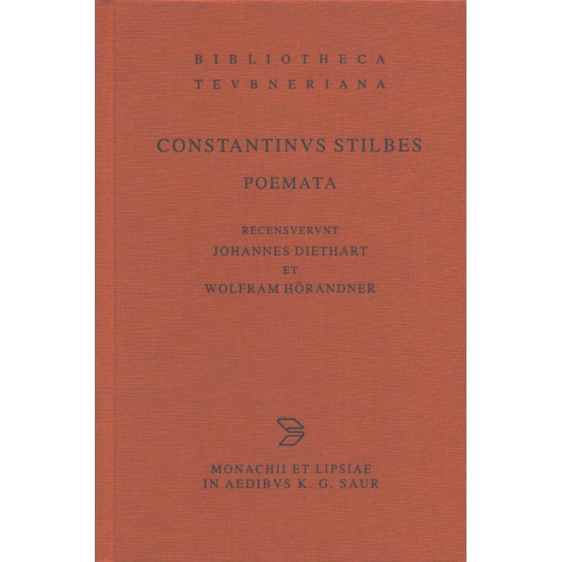 Constantinus Stilbes Poemata