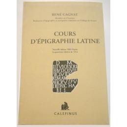 Cours d'Epigraphie latine