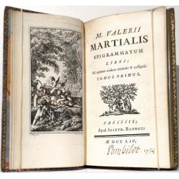 M. Valerii Martialis Opera, 2 Volumes (complet)