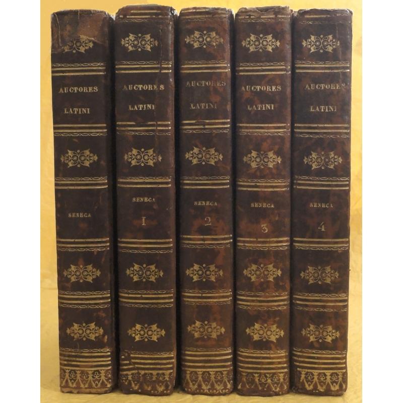 Tragoediae, Ad Lucilium, Epistolae Morales, tome I à IV