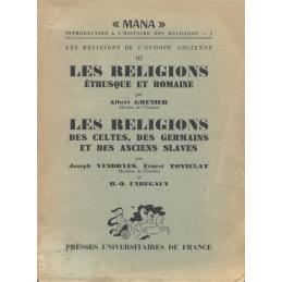 1. Les Religions étrusques et romaine - 2. Les religions des Celtes, des Germains et des anciens Slaves