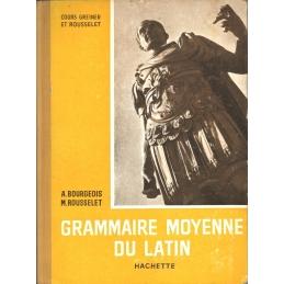 Grammaire moyenne du latin