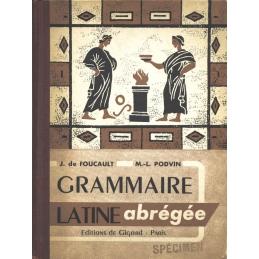 Grammaire latine abrégée (classe de grammaire)