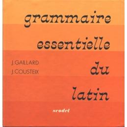 Grammaire essentielle du latin