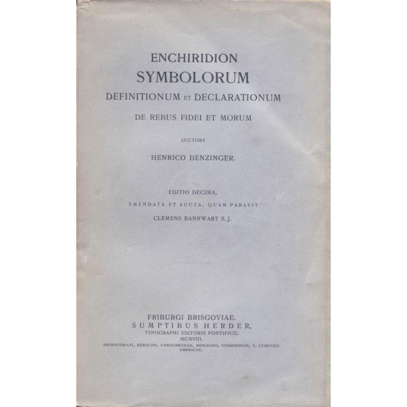 Enchiridion symbolorum