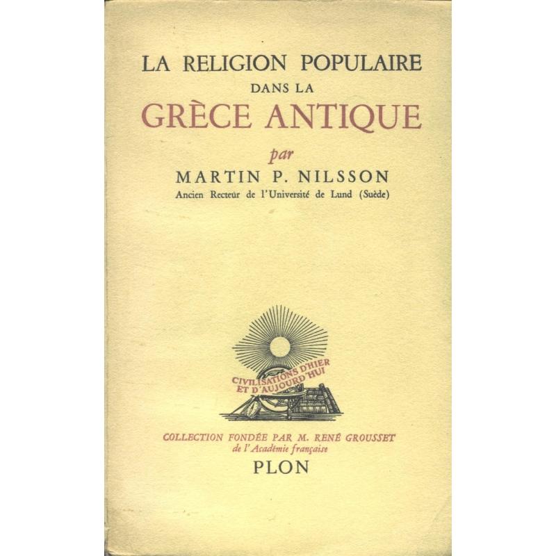 La religion populaire dans la Grèce antique