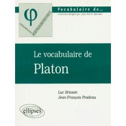 Le vocabulaire de Platon